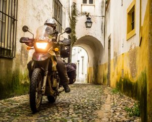 Motorcycle touring Portugal