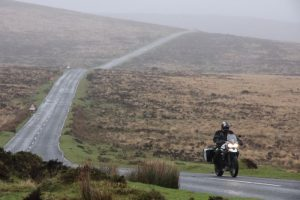 Motorcycle touring Drtmoor National Park