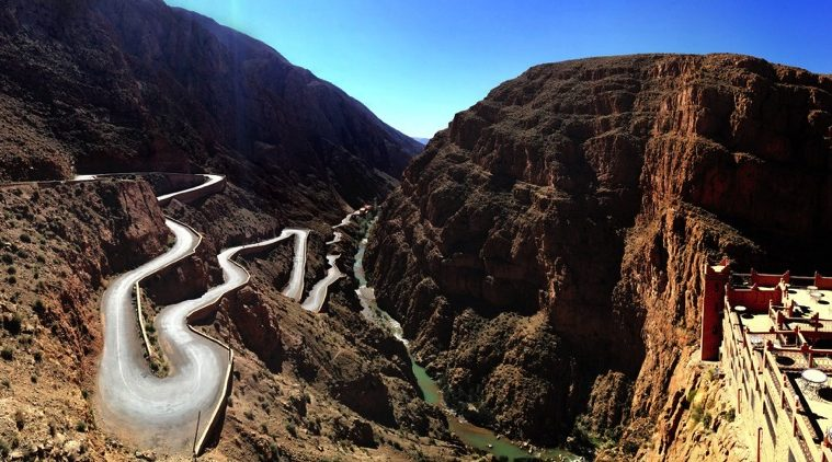 Motorcycle touring in Morocco