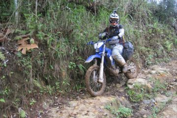 Off-road motorcycline in the Philippines