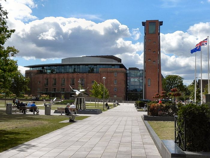 The Royal Shakespeare Theatre image by David Dixon