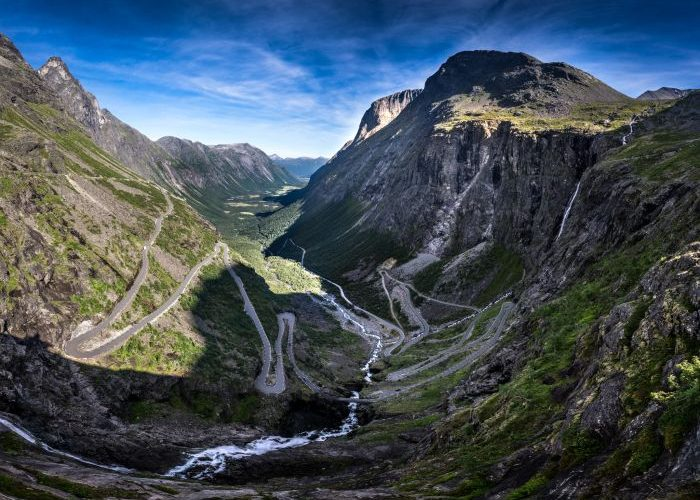 Trollstigen mountain road, Norway
