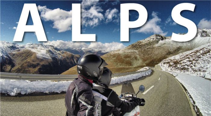 Motorcycle tour of the Alps