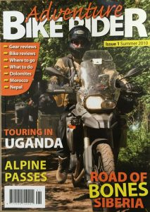 Adventure Bike Rider magazine issue one