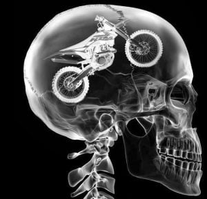 Off-road motorcycling on your mind