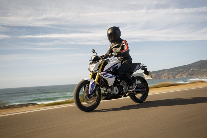 BMW G310R motorcycle