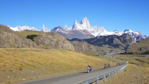 Round the world motorcycle touring