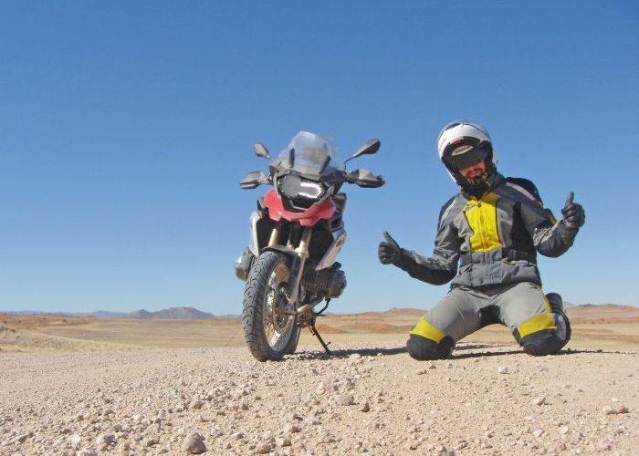 Round the world motorcycle adventure