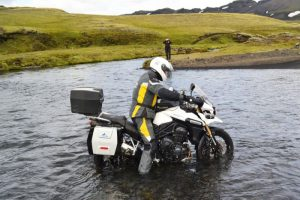 Round the world motorcycle adventure