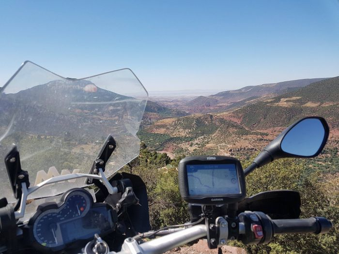 Views from the Tizi n Tichka in Morocco