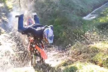 Off-road motorcycle fails