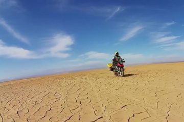 Off-road motorcycle adventure across South America