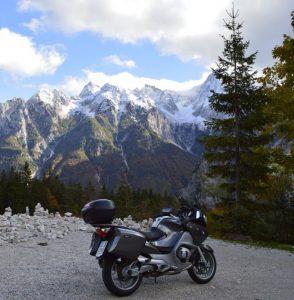 The Vrsic Pass, Slovenia