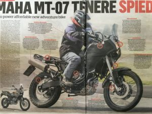 New Yamaha mid-range adventure bike