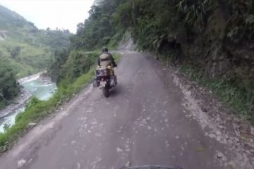 Adventure motorcycling in India