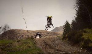 Watch: Tiger 800XCx takes on mountain bike