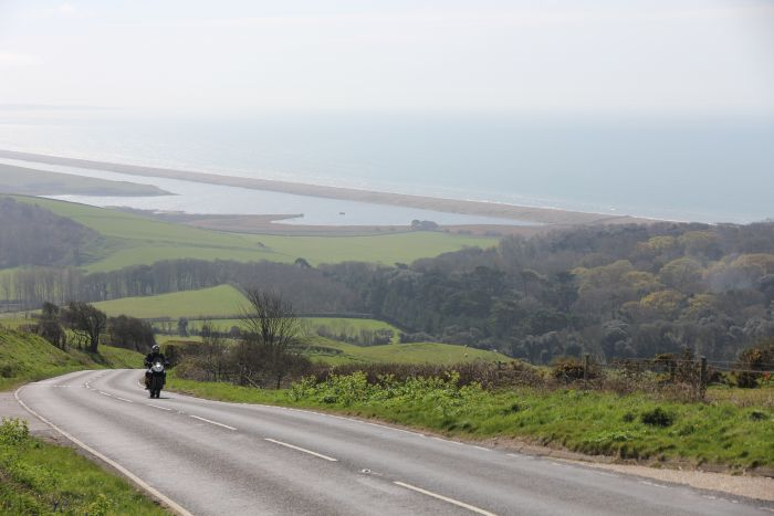 The views from Abbotsbury Hill, Jurassic Coast Road
