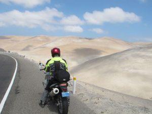 Adventure motorcycling in Peru