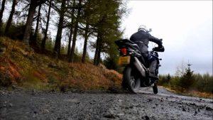 Triumph Tiger Explorer off-road video
