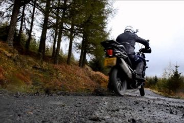 Triumph Tiger Explorer off-road video
