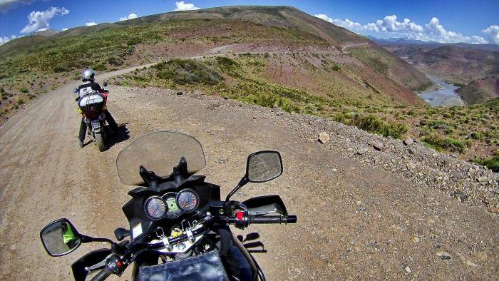 Adventure riding in Patagonia