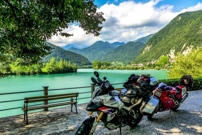 Motorcycle touring Slovenia