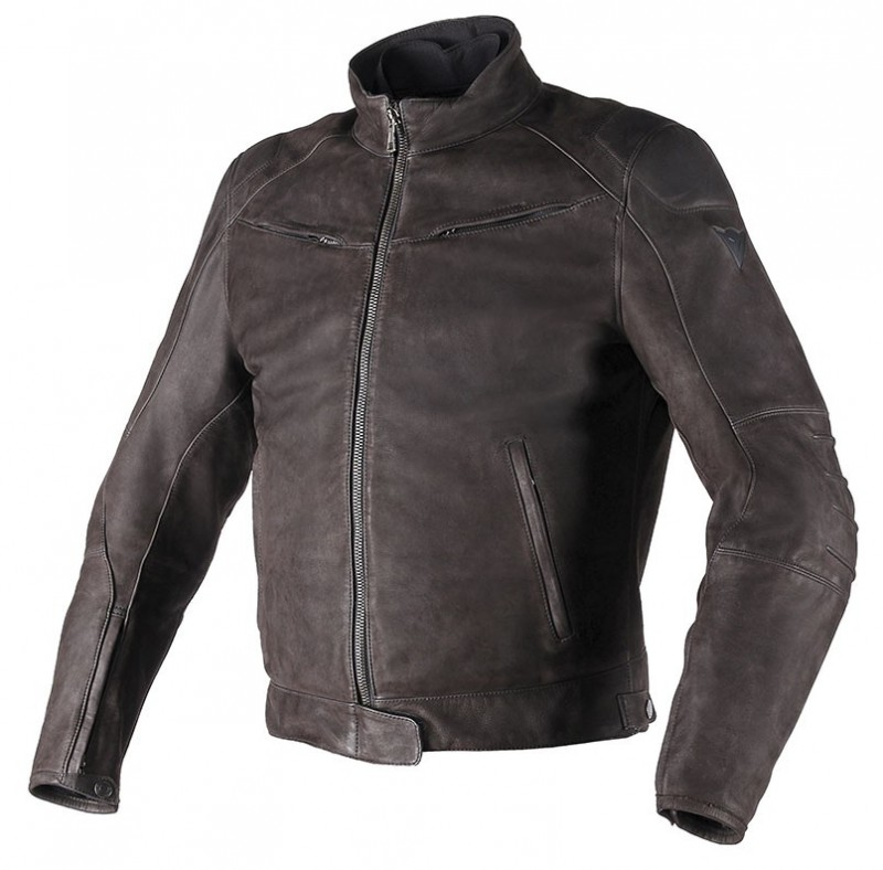 dianese Black Hawl Leather jacket