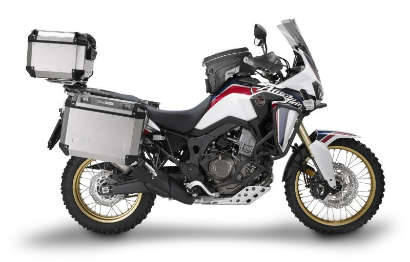 Givi luggage for the Africa Twin