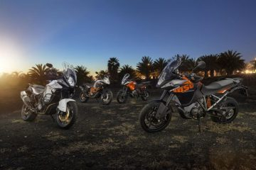 KTM adventure bike line up