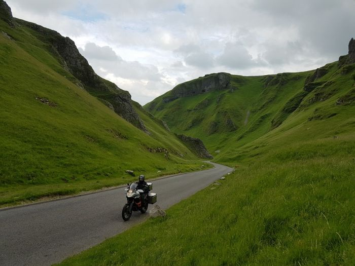 Motorcycling in the Peak District
