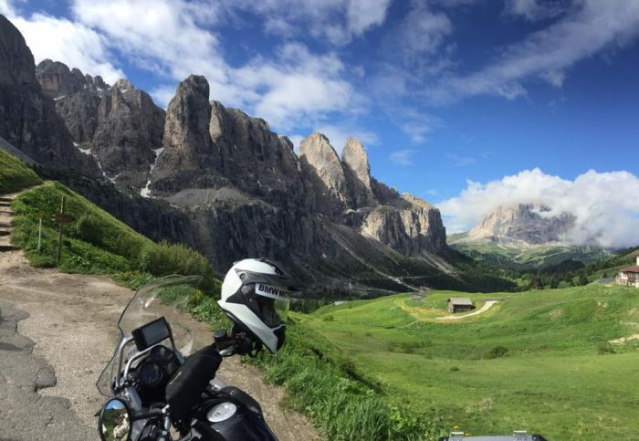 Biking the Dolomites