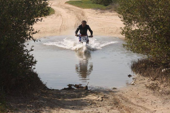 Motorcycle river crossings