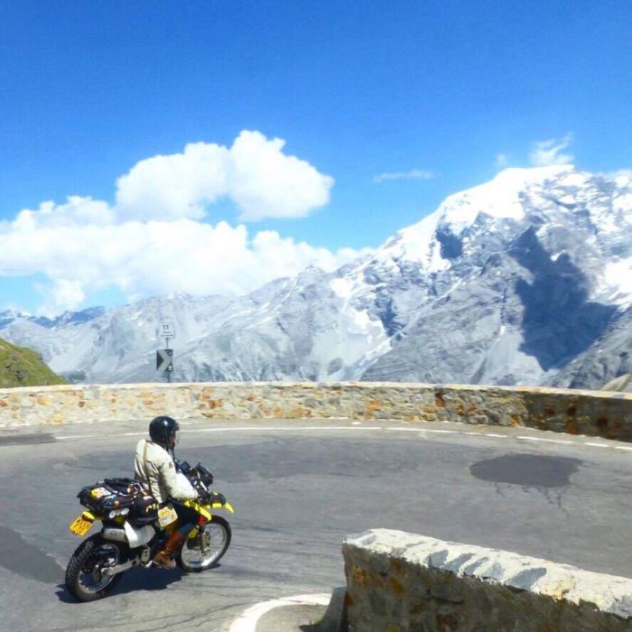 Biking the Stelvio Pass
