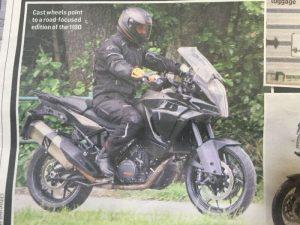KTM 1190 Adventure 2017 spy shots