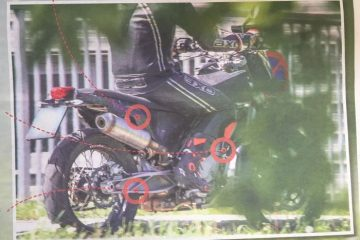 KTM 800 Adventure spy shots