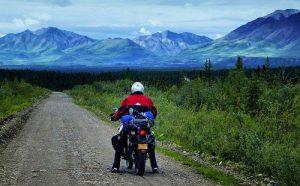 Riding Nebesna Road, Alaska