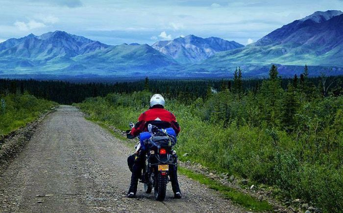 Riding Nebesna Road, Alaska