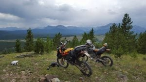 Motorcycle adventures in Canada