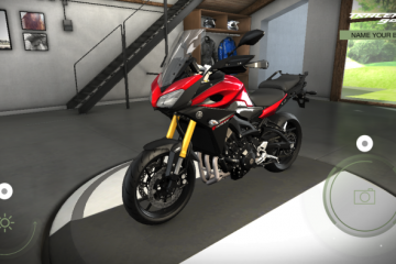 Yamaha My Garage app