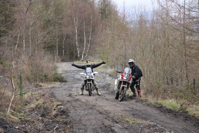 fun on the honda africa twin