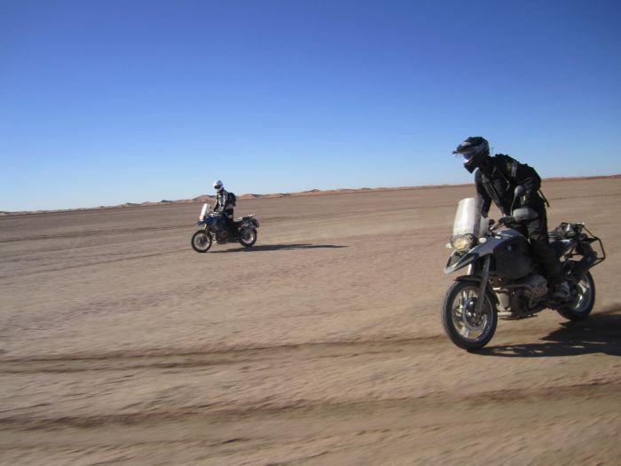 Riding the desert, Morocco