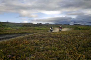 Riding Iceland
