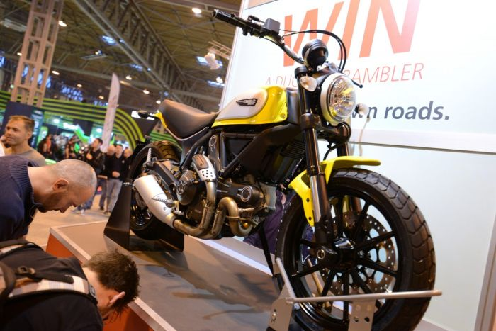 Competitions at Motorcycle Live