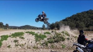 BMW GS off-road