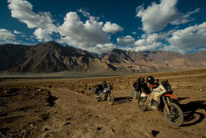 Overland motorcycle travel