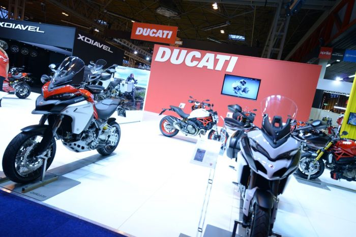 Ducati at Motorcycle Live