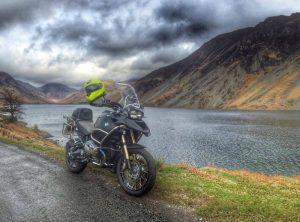Motorcycle by Wastwater