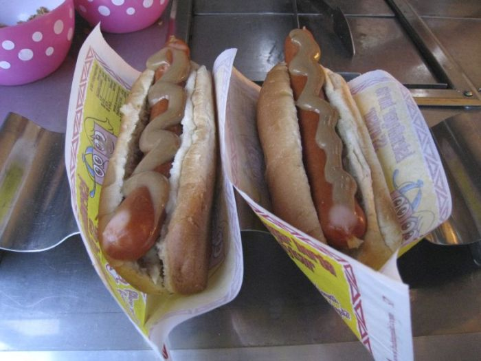 Famous hotdogs, Iceland