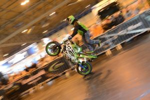 Lee Bowers at Motorcycle Live