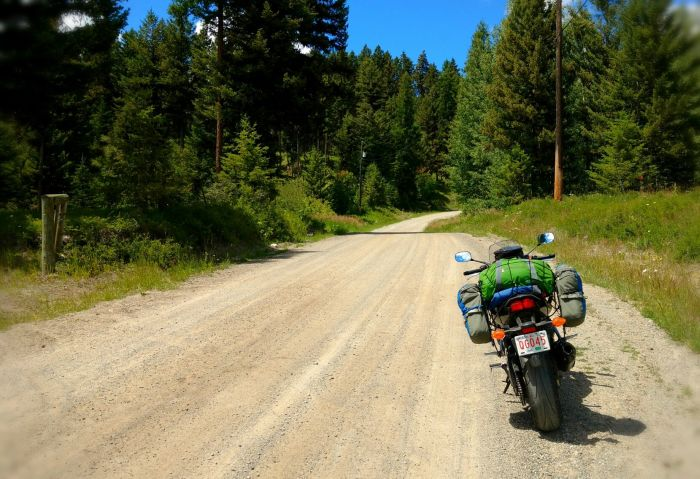 Off-road riding in British Columbia